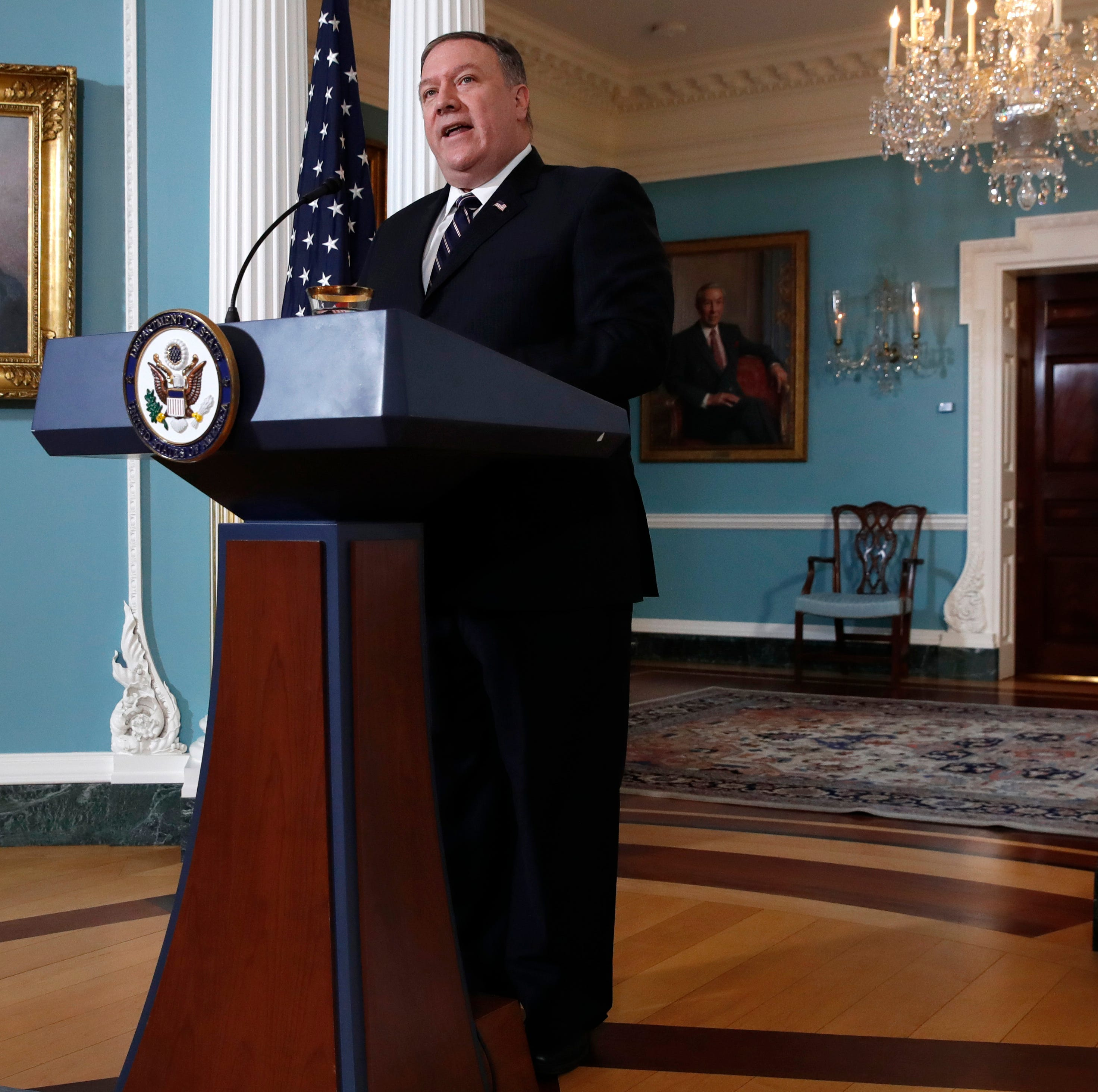 Mike Pompeo: We remain the world's most generous nation