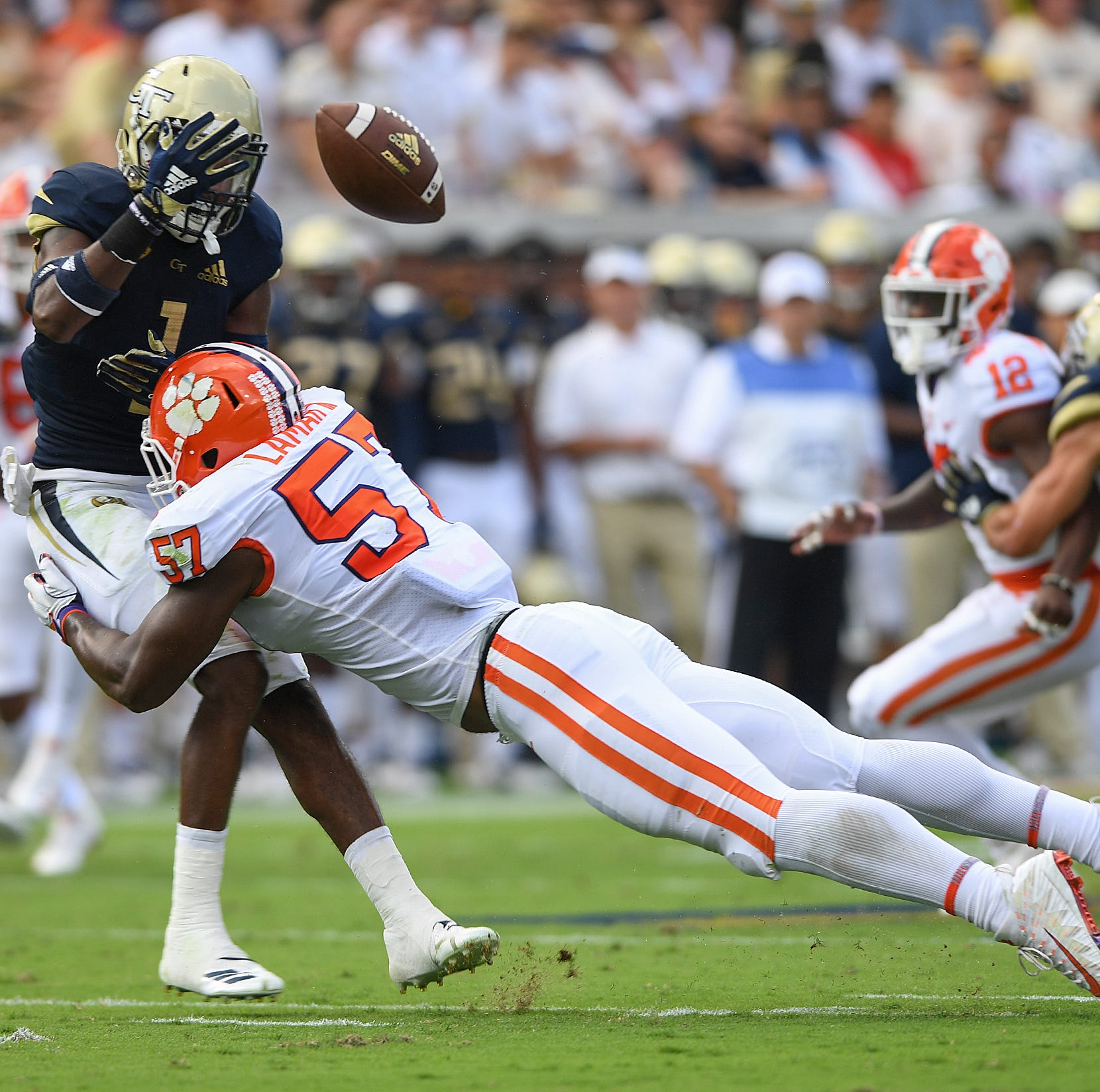 Triple option no longer part of Clemson's preparation for Georgia Tech