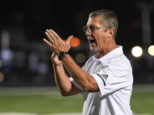 T..L Hanna coach Jeff Heron scored the Yellow Jackets' opponent this week and says, 'What I found out scared me.'