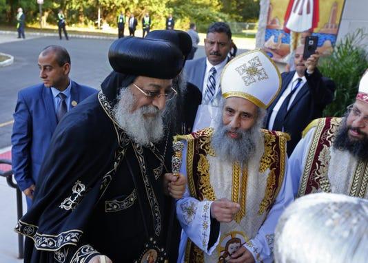 Coptic Orthodox Pope Tawadros Ii Draws Thousands To Holmdel