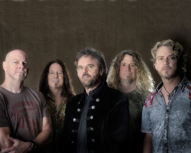 38 Special will perform in Abilene for the first time with an Oct. 6 show at the Back Porch of Texas. From left are: Gary Moffatt, Barry Dunaway, Don Barnes, Bobby Capps and Danny Chauncey.
