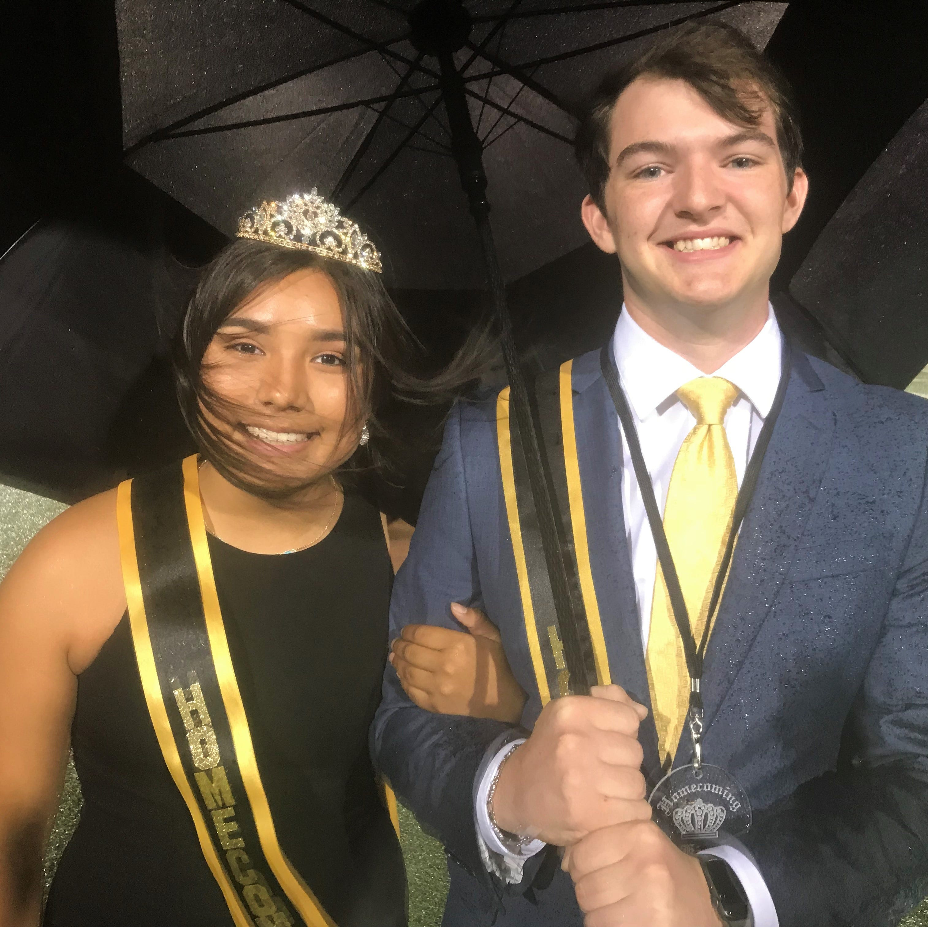 Gabriella Hernandez was named queen and Dakota Drennan king at halftime of Abilene High's homecoming football game against Midland High on Friday night at Shotwell Stadium. Other queen nominees were Givan Walker, Rylie Savage, Jazmine Pecina and Morgan Wheeler. Other king nominees were James Melson, Noah Perez, J.D. Dugger and Reese Pettijohn.