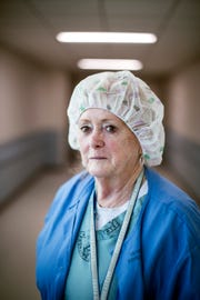 Mickey Donathan, certified registered nurse anesthetist at the Charles George VA Medical Center, is retiring after 55 years working as a nurse.