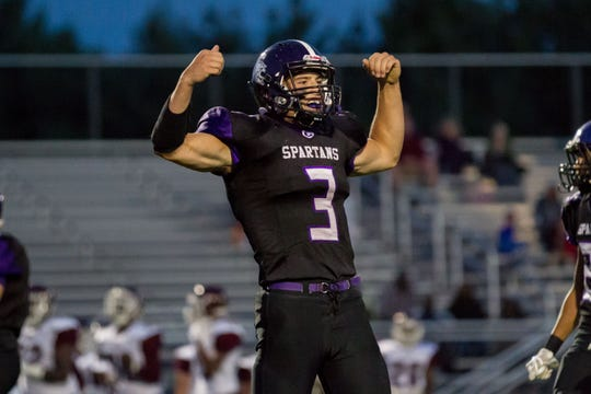 Lakeview quarterback/linebacker Jack Goodman.