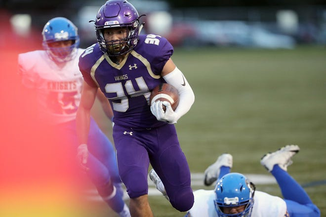 North Kitsap's Clayton Williams and the Vikings are riding a five-game winning streak headed into the team's Week 9 home game against Olympic.