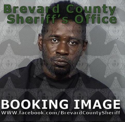 Theron Wright, 36, of Palm Bay, was arrested after a man told deputies Wright battered him, then forced him to ride around as Wright bought and sold drugs from the victim's car.