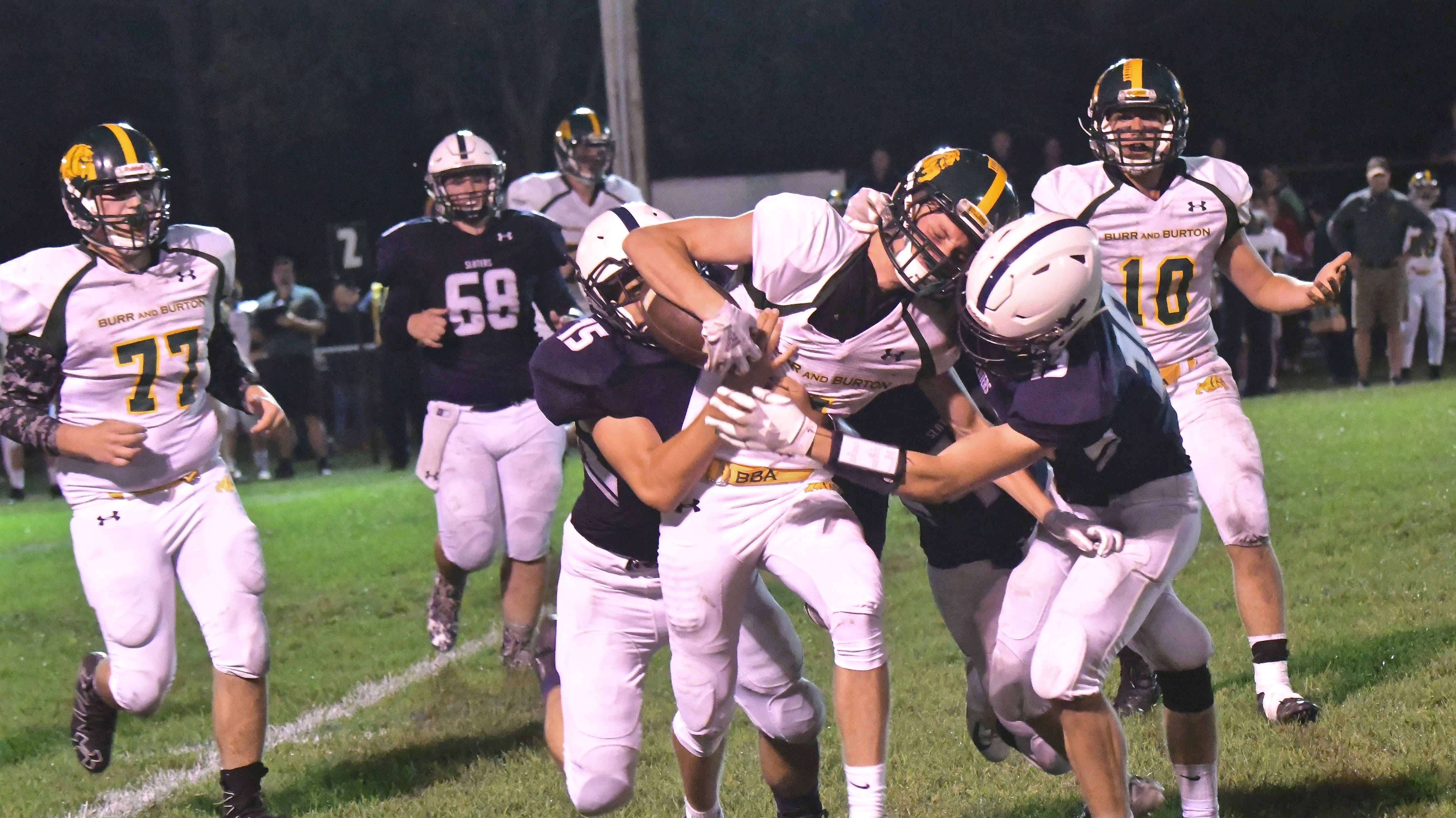 Three thoughts: BBA makes statement with 48-14 win over Fair Haven