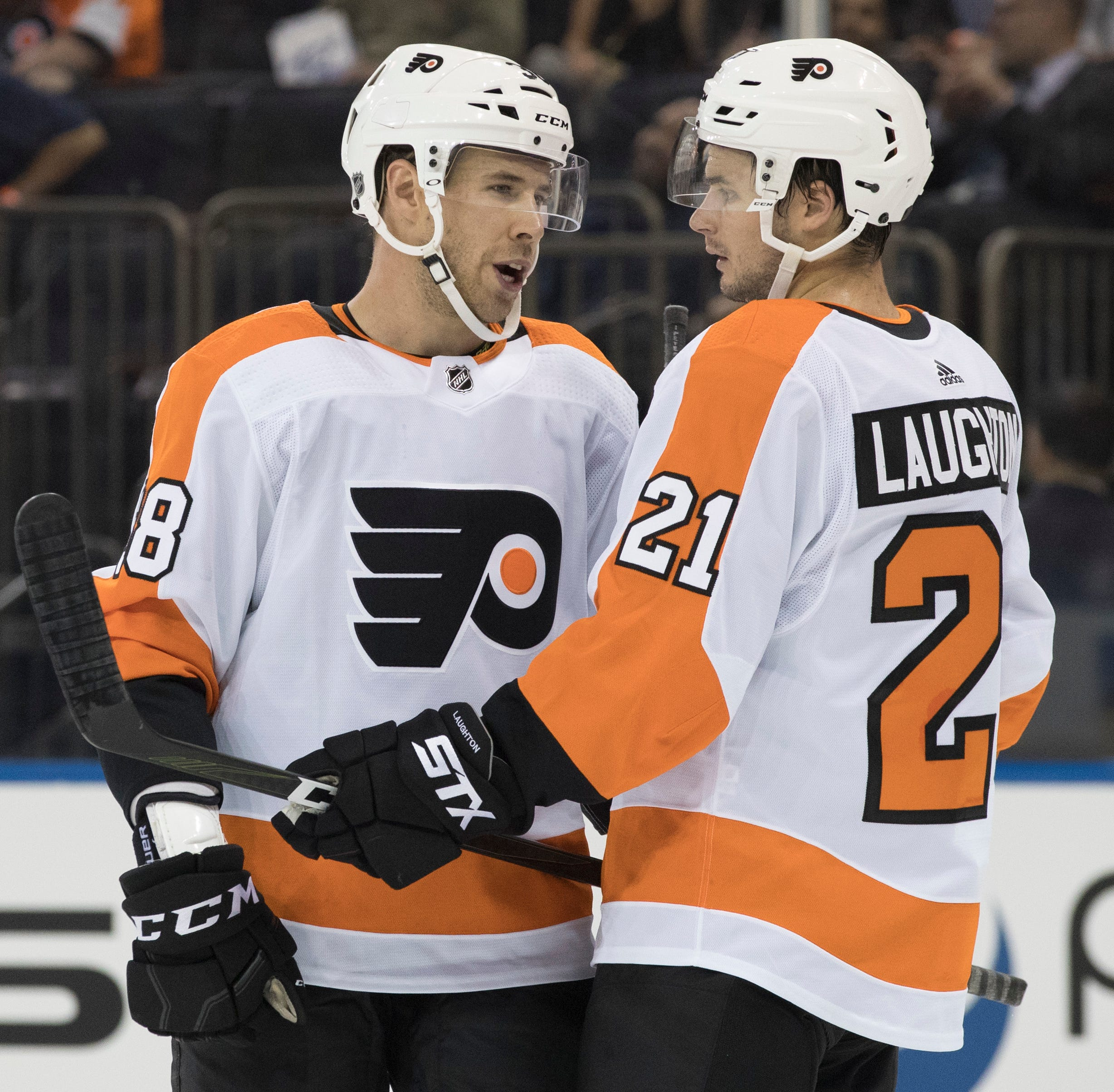 Corban Knight on the bubble of making Flyers after two-year NHL absence