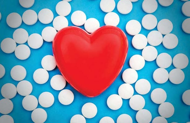 Daily-dose aspirin could potentially do more harm than good.