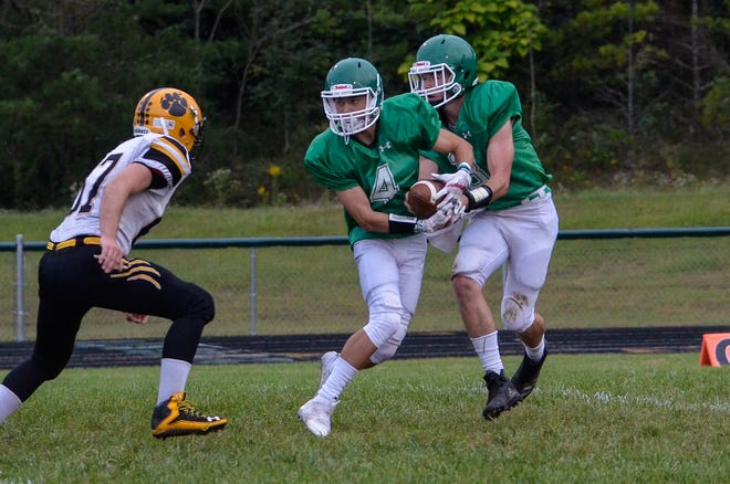 Huntington football's Seth Beeler won the male athlete of the week poll with 60 percent of the vote.