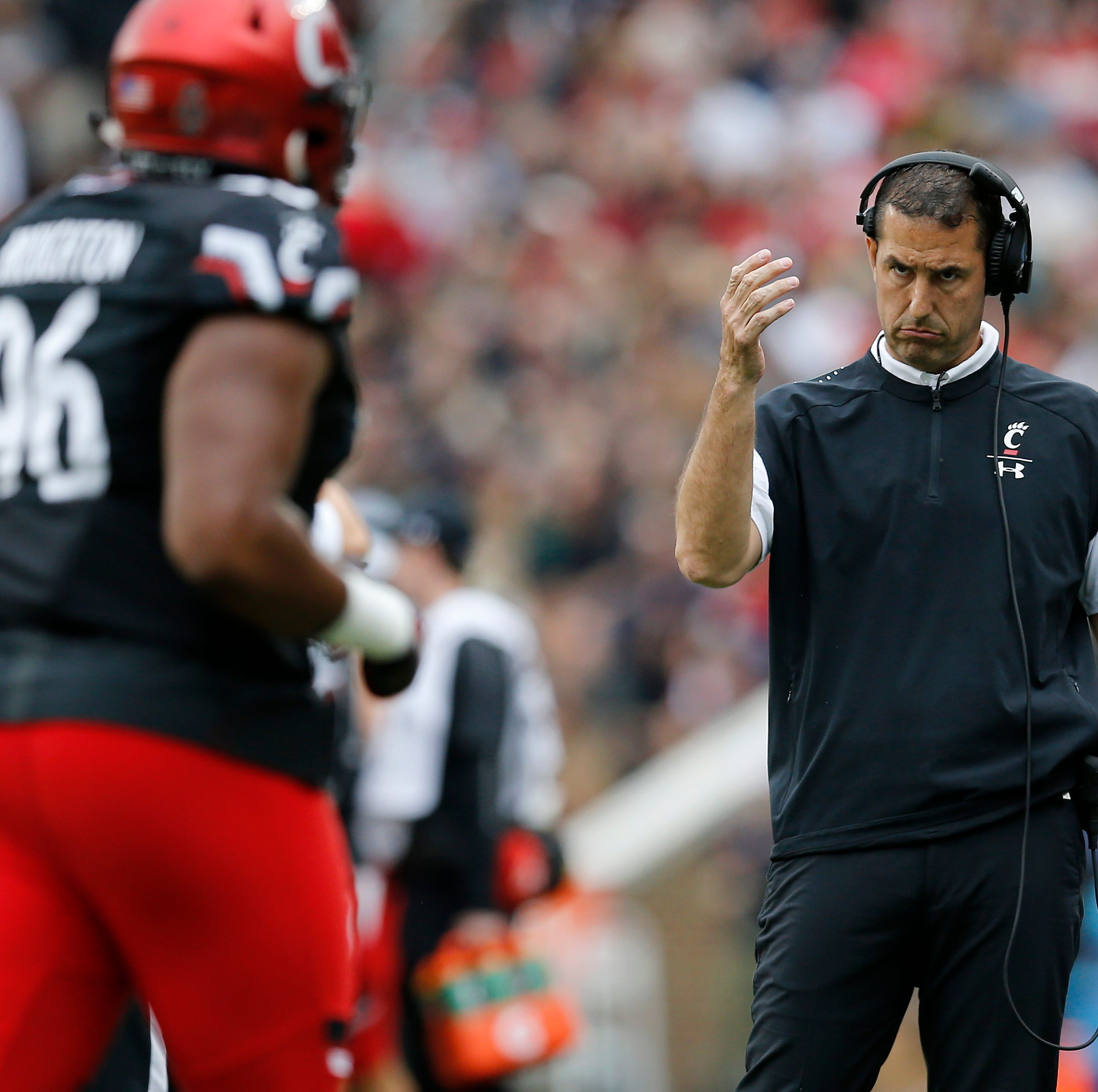 Cincinnati Bearcats coach Luke Fickell not surprised that UC is underdog at Temple