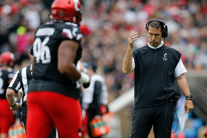 University of Cincinnati coach Luke Fickell said he is not surprised that the 6-0 Bearcats are 3 1/2-point underdogs at 4-3 Temple this week.