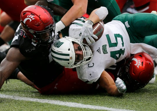 Ohio Bobcats At Cincinnati Bearcats