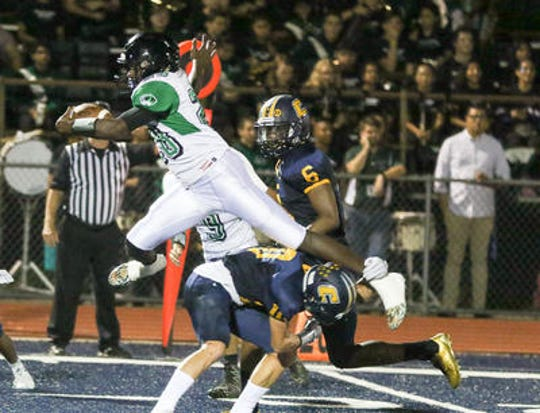 South Plainfield at Colonia football on Friday, Sept. 21, 2018.