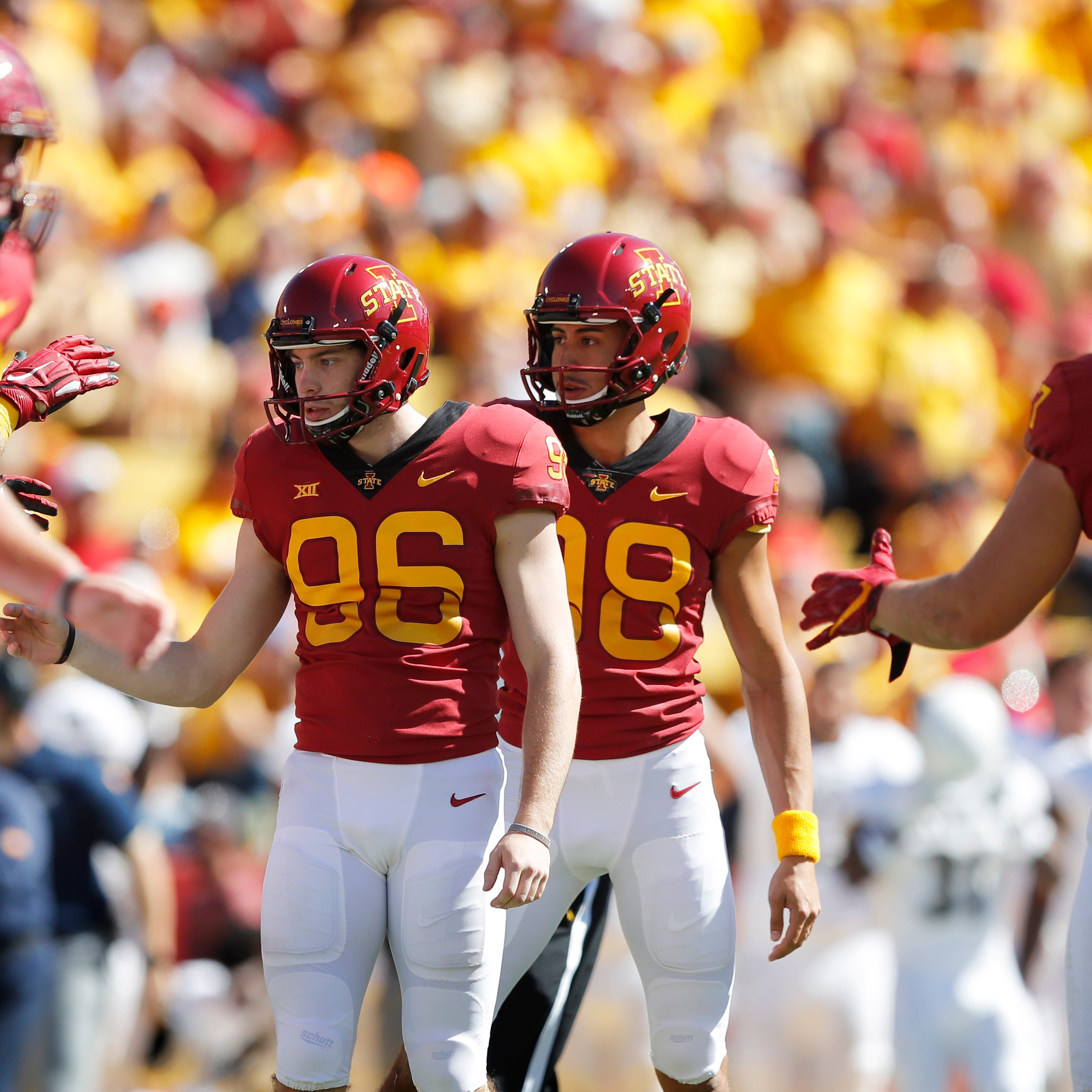 Walk-on kicker Connor Assalley becoming the surprise story for Iowa State