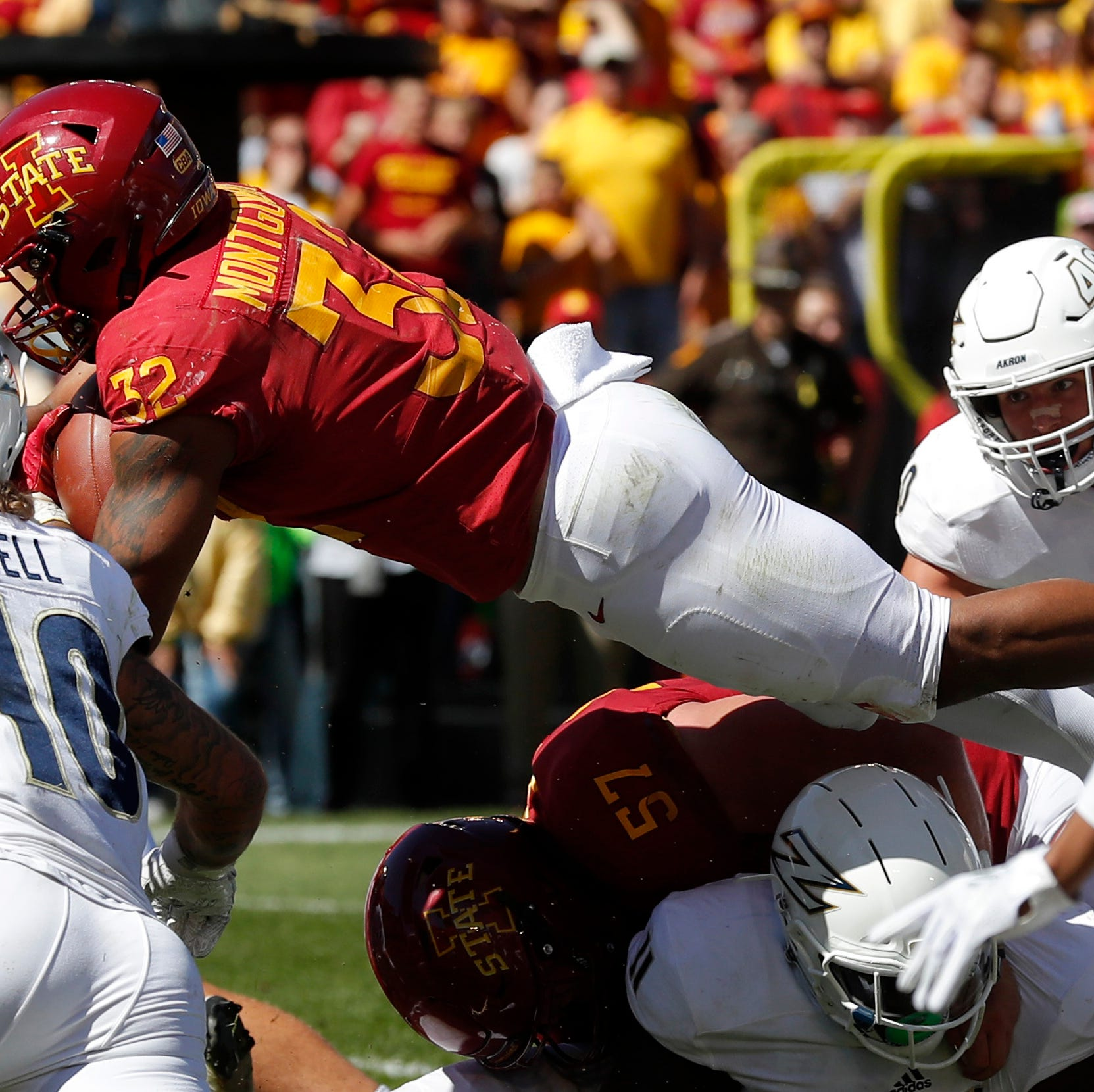 Iowa State coach Matt Campbell encouraged by offensive progression