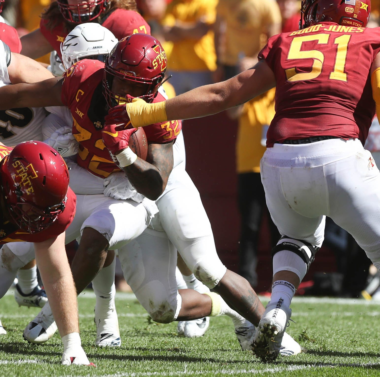 Peterson: Chill out, Iowa State football fans, David Montgomery will be fine