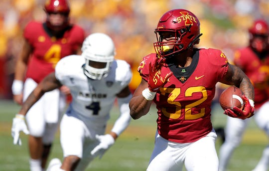Iowa State is still looking for a true breakout performance from star running back David Montgomery.