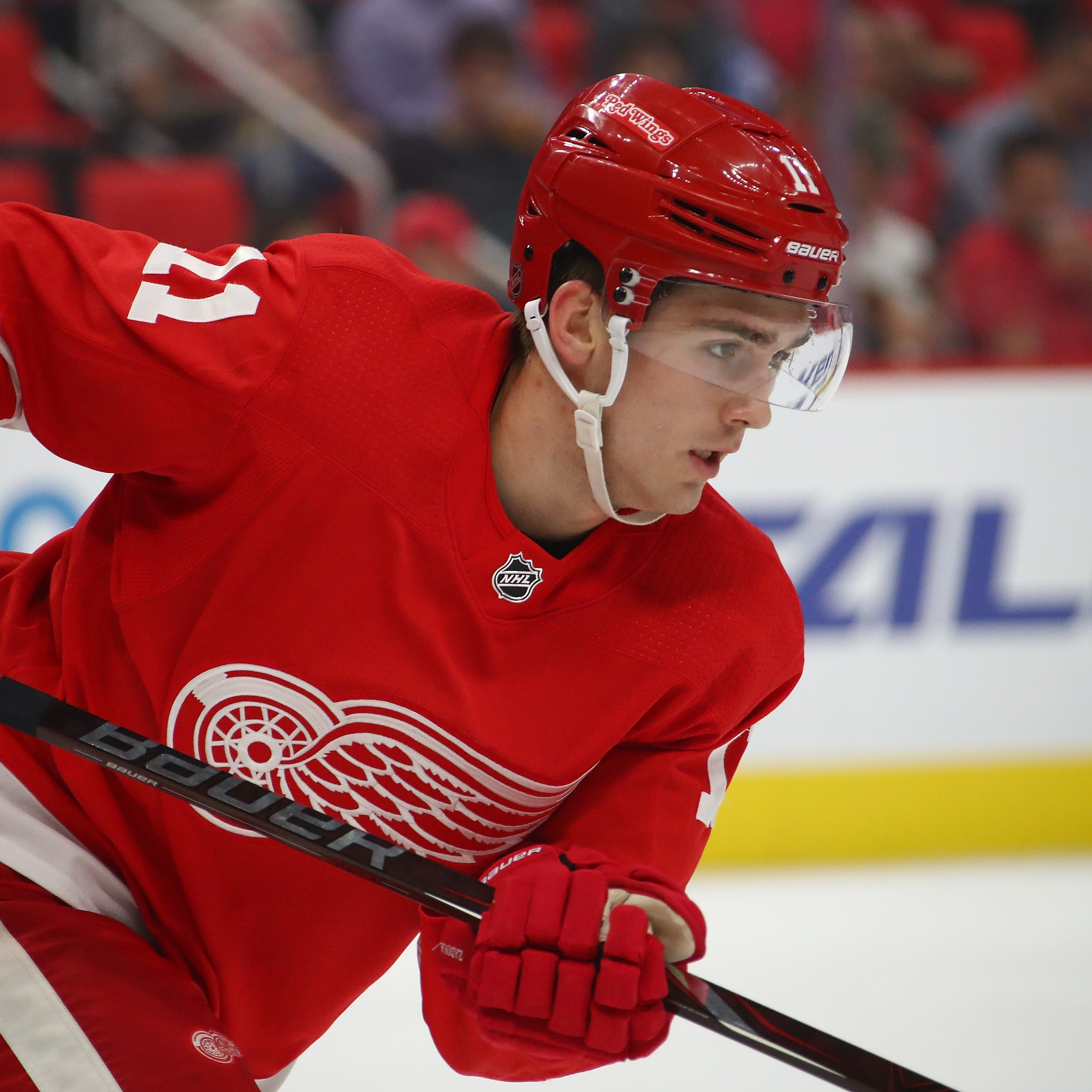 Red Wings call up Filip Zadina. Here's why he's not a finished product