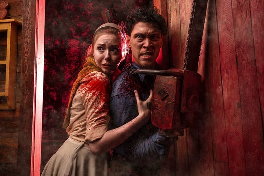 """""""Evil Dead: The Musical"""" is back at City Theatre through Oct. 27."""
