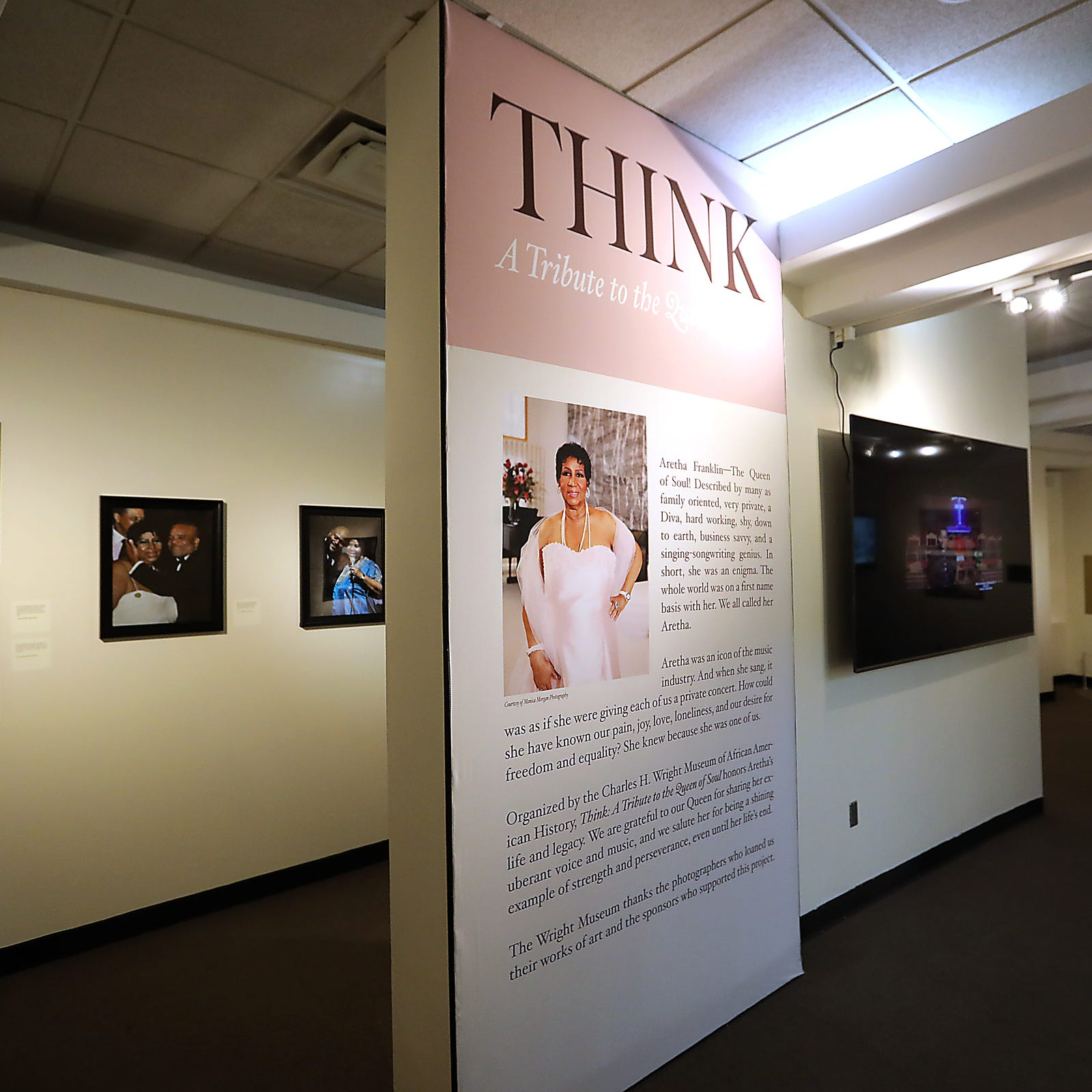 Aretha Franklin celebrated in Wright museum exhibit opening Tuesday