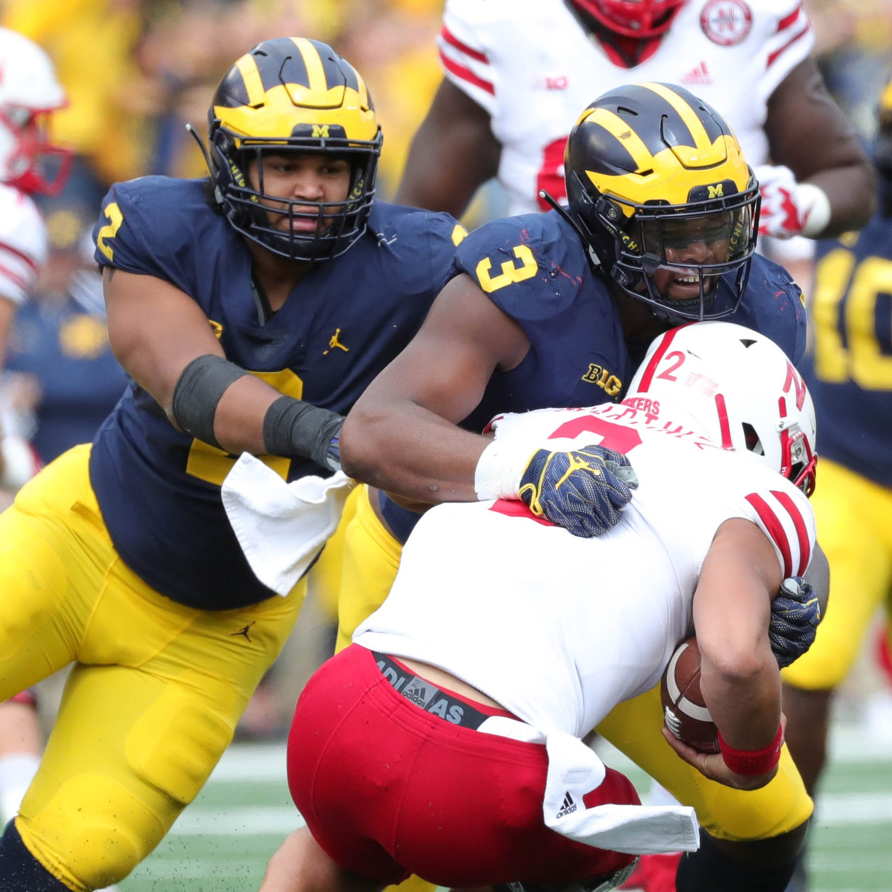 Michigan football's Rashan Gary arm injury? 'Nah ... everything's good'