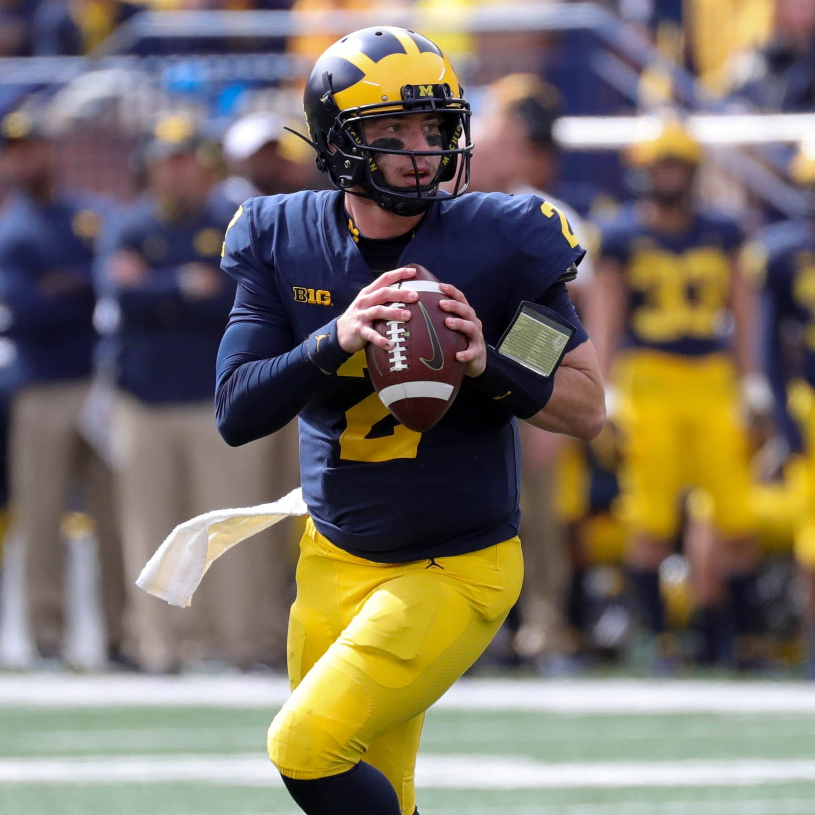 Michigan football 3 questions: How did Shea Patterson look?