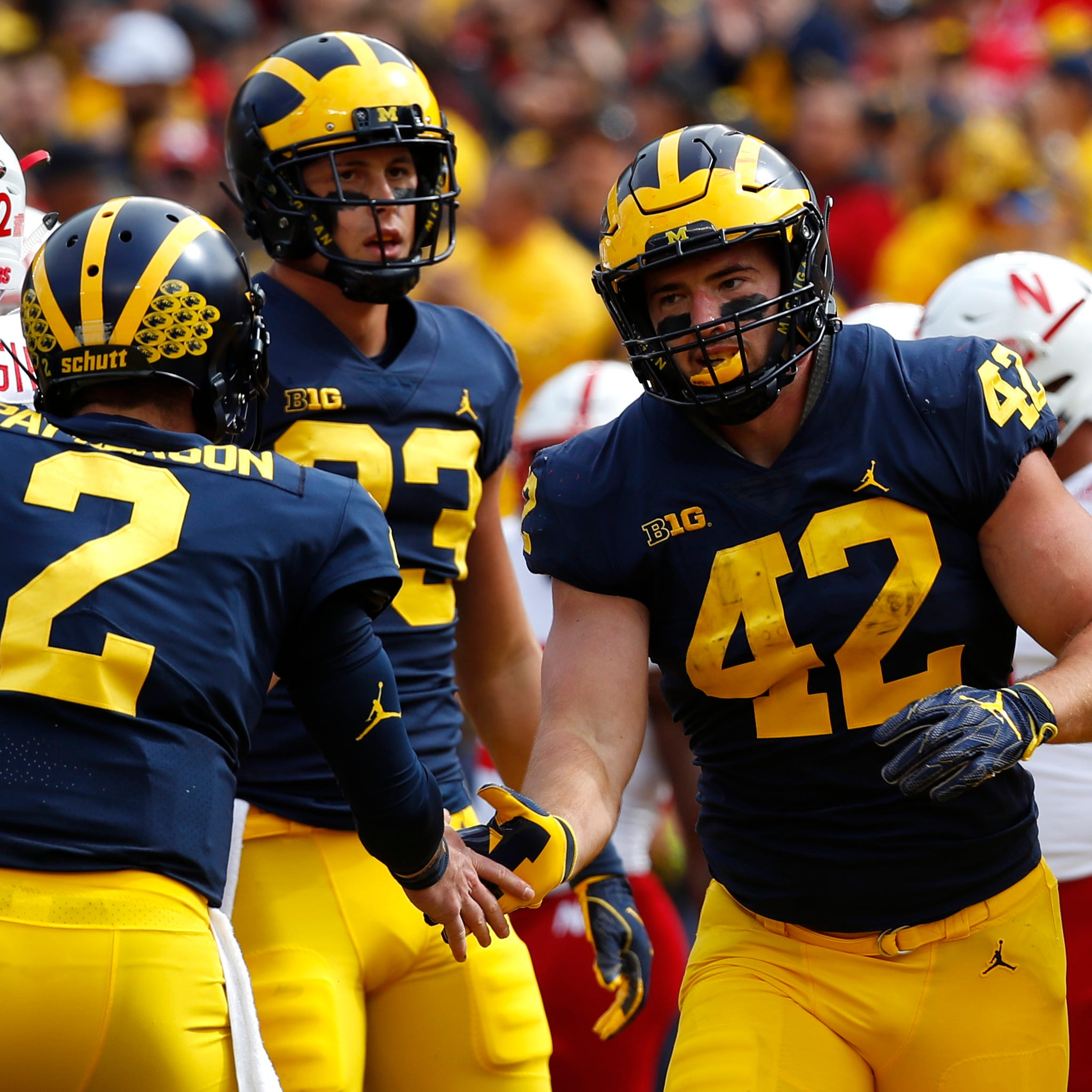 Michigan football grades: Wolverines nearly ace test vs. Nebraska