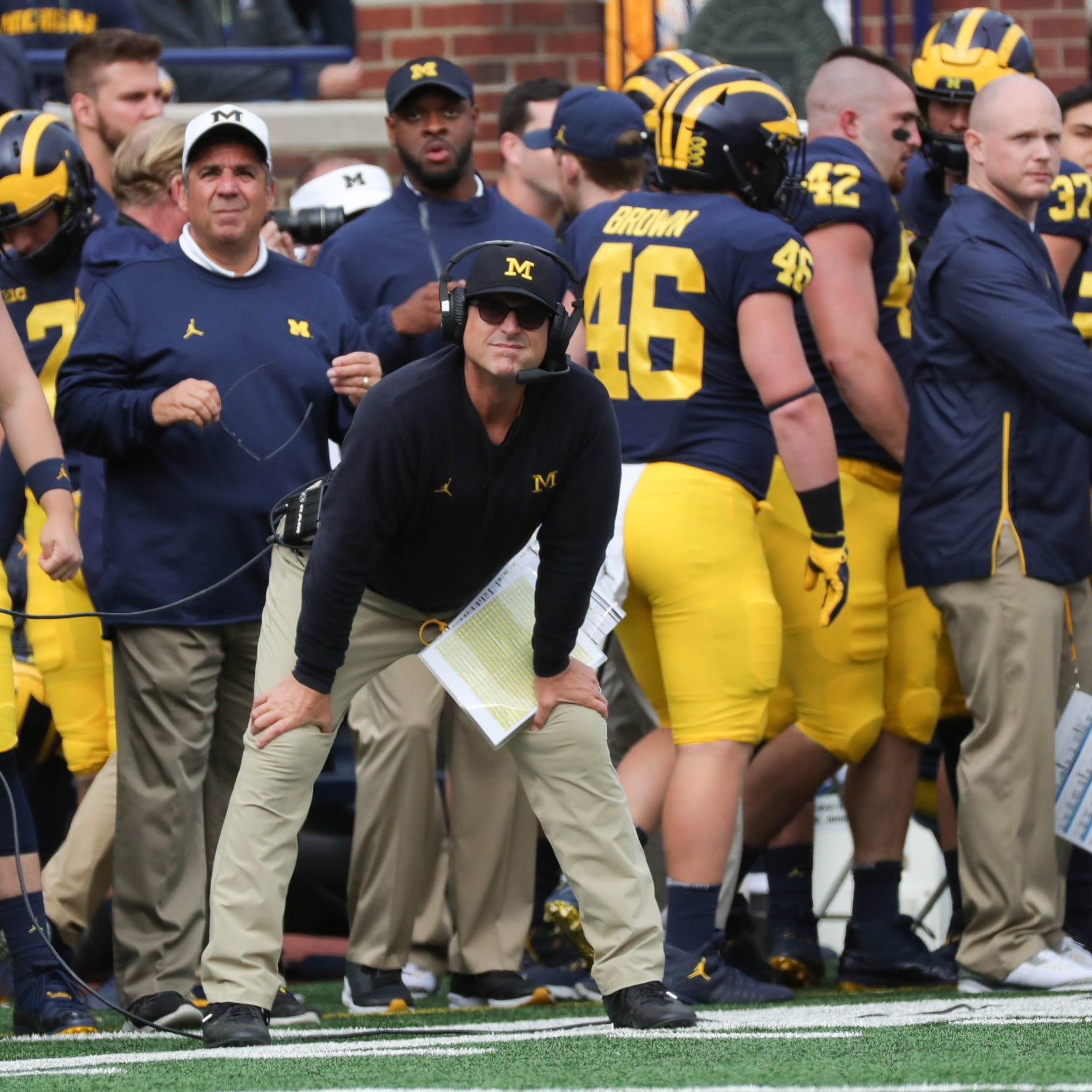 Michigan football starting to resemble vintage Jim Harbaugh team