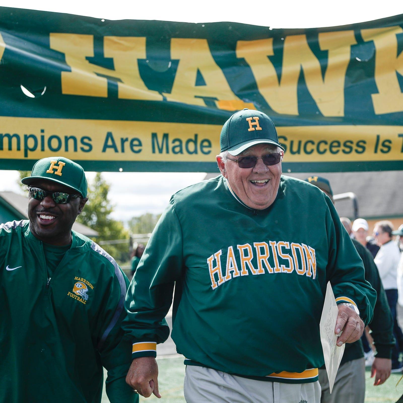 Happy homecoming: Harrison bids adieu with 39-7 win vs. Stoney Creek