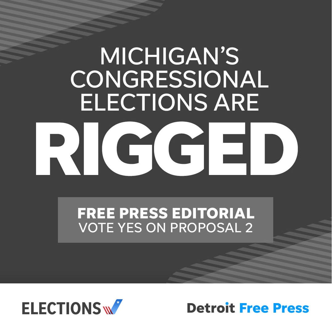 Michigan elections are rigged. Proposal 2 offers a path to fairness.