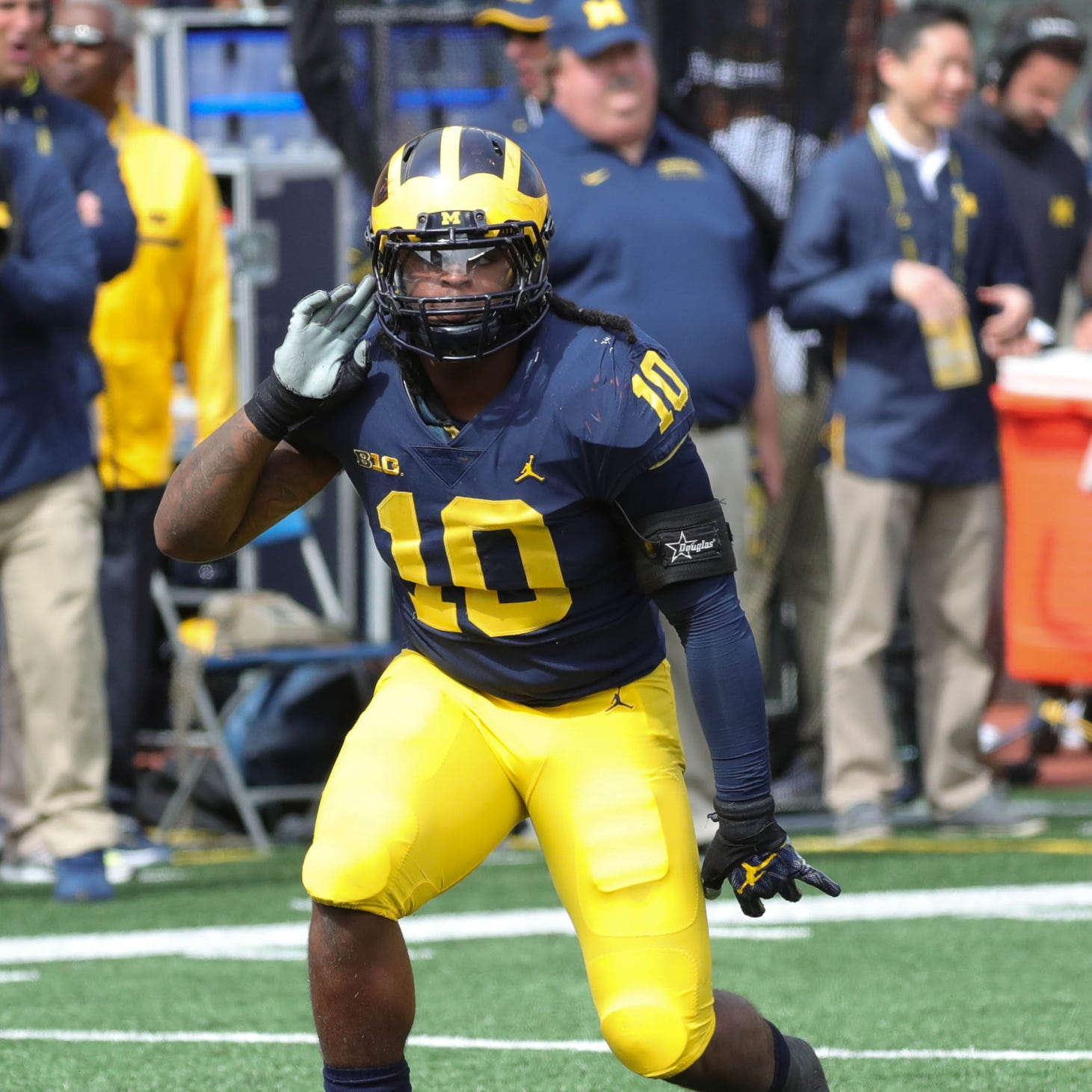 Michigan football film study: Devin Bush Jr. playing out of his mind