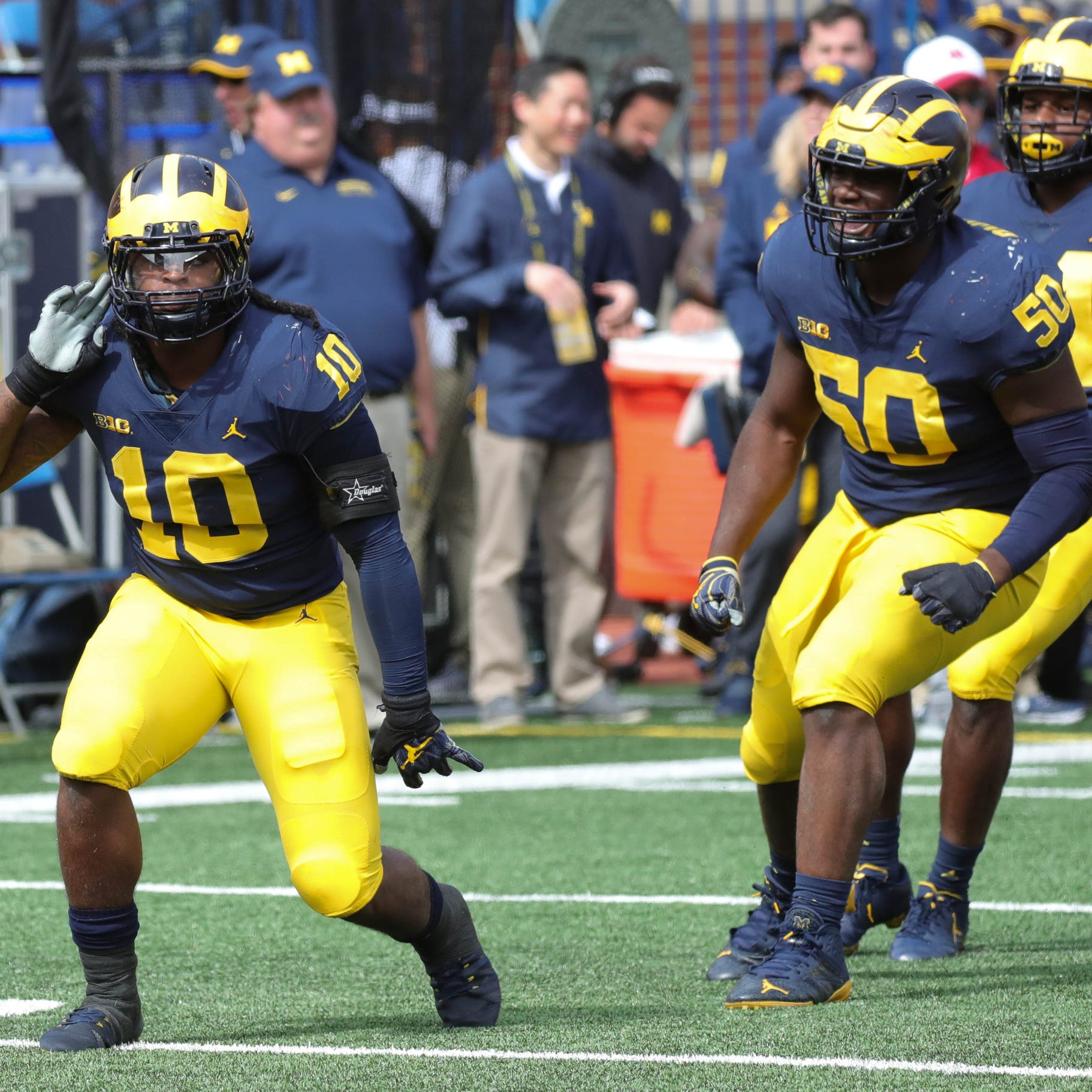 Michigan football's smash-mouth style going on road to Northwestern?