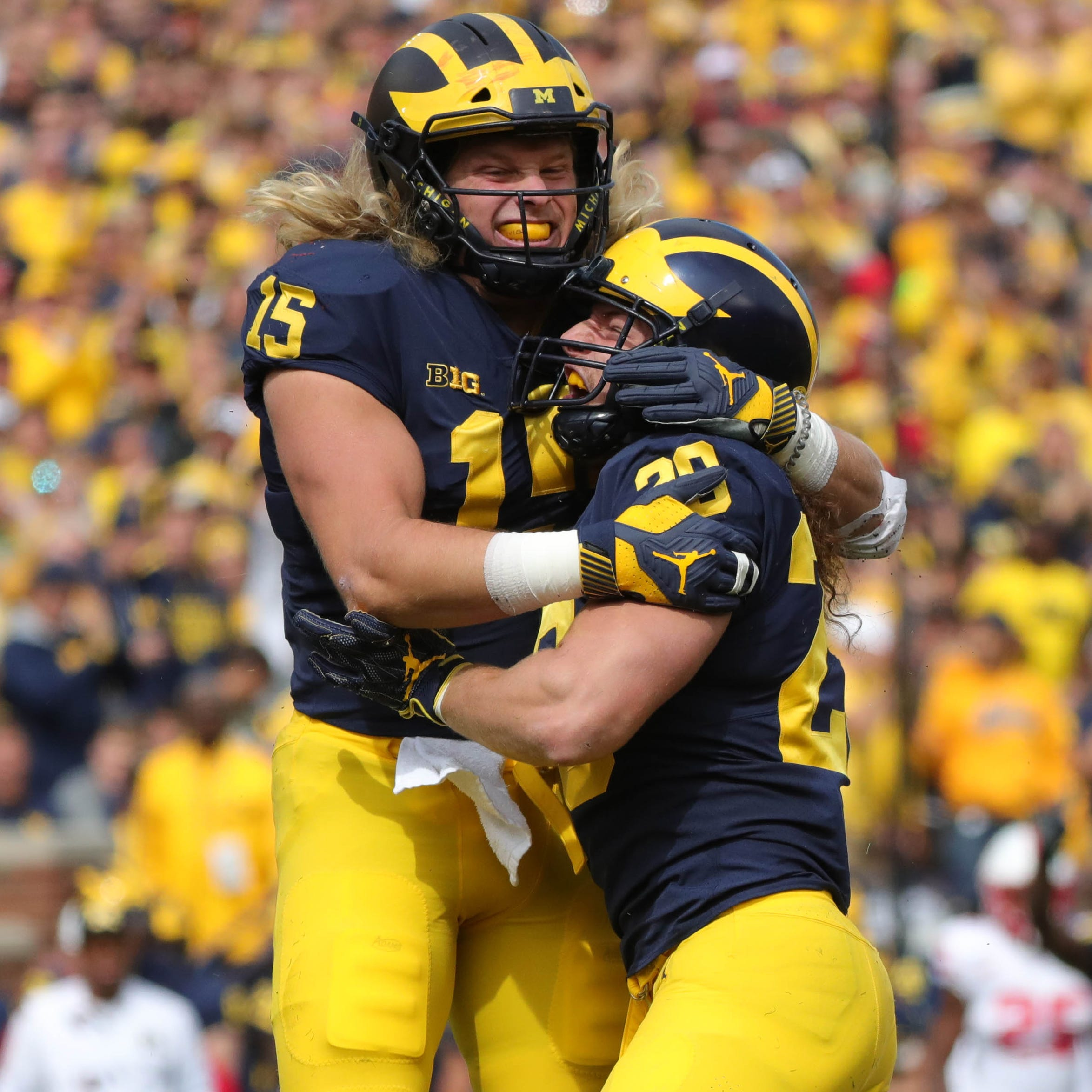 Michigan beats Nebraska, 56-10: Blog recap