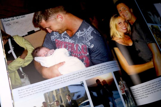 A memorial book for the life of Cullen Finnerty. Cullen was a quarterback at Grand Valley State University who died May 27, 2013, in the woods of Northern Michigan after getting lost and disoriented.