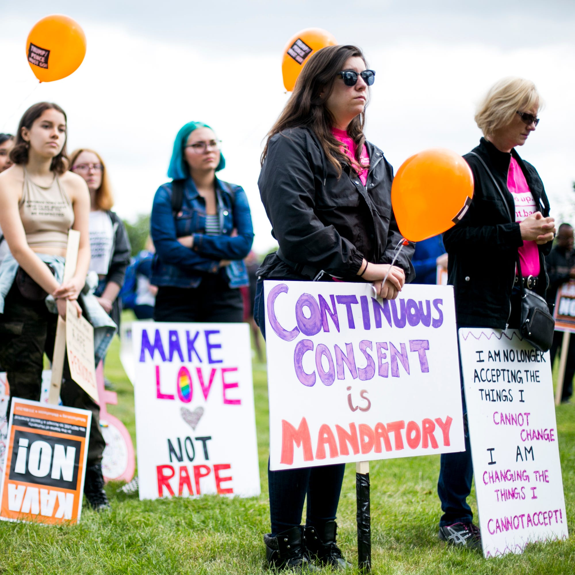 Women March for Consent at Detroit SlutWalk