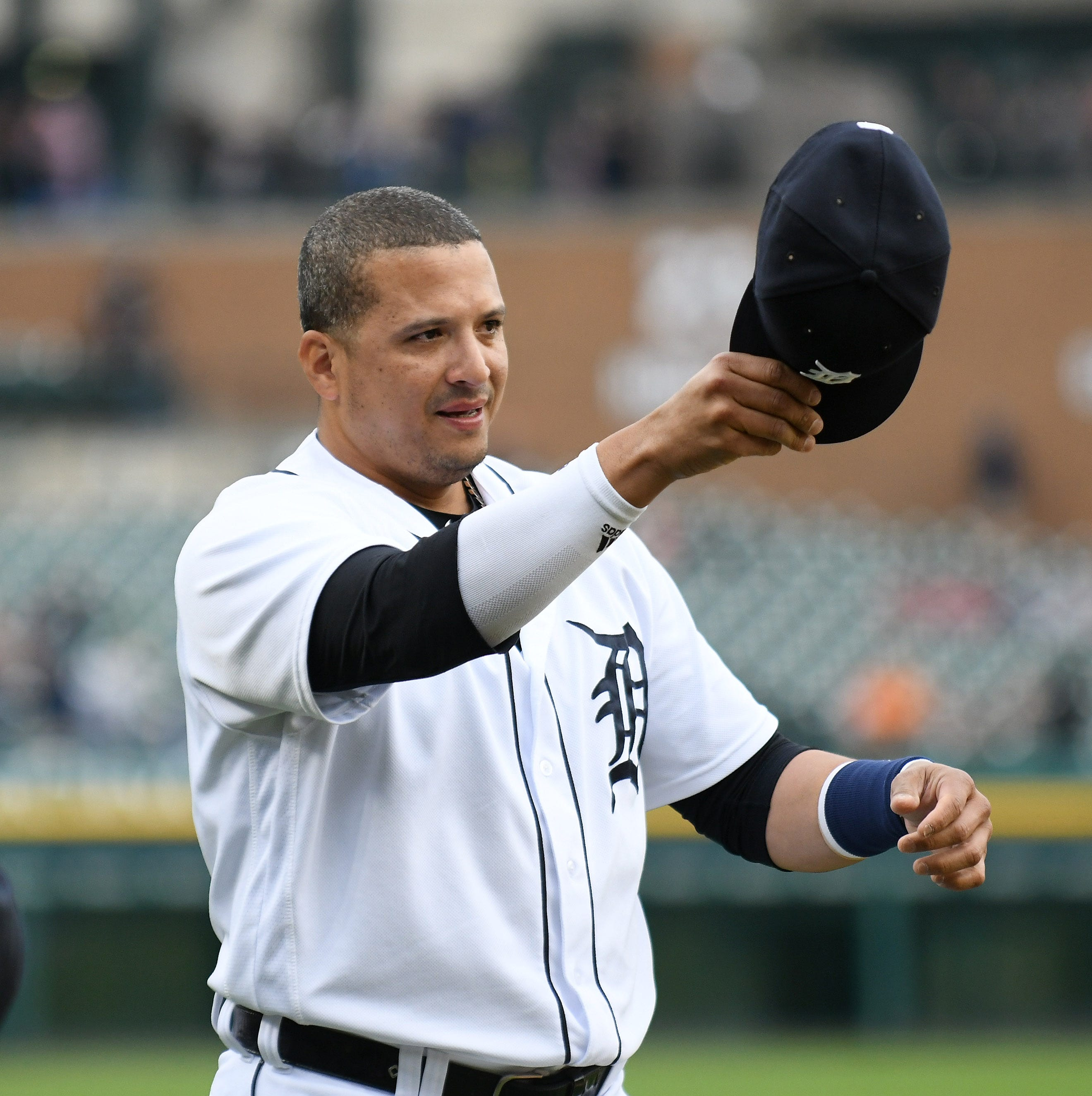 Emotional adieu: Tigers' Victor Martinez bows out in grand style