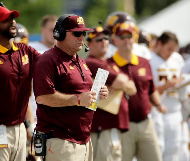 Former Central Michigan head coach John Bonamego