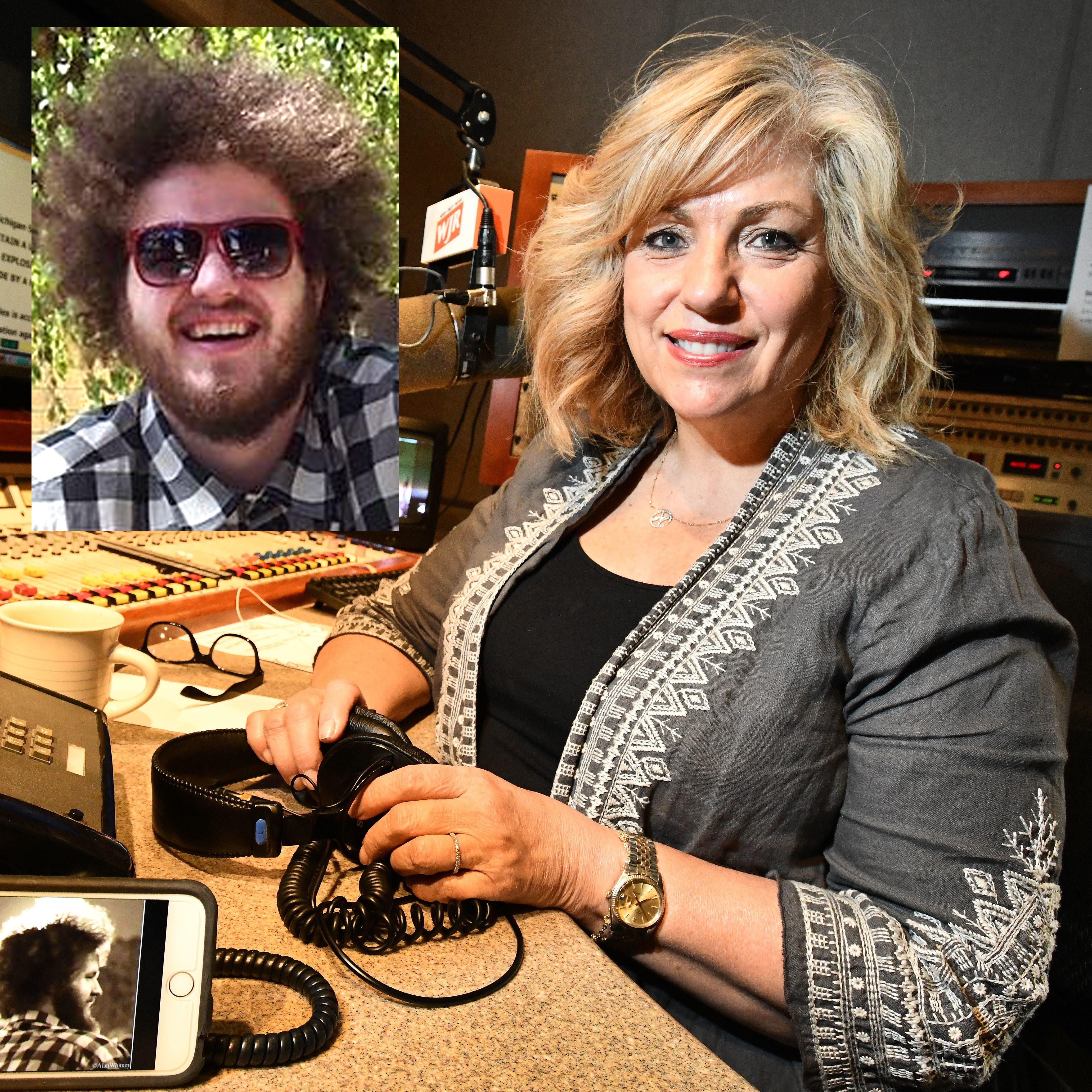 WJR-AM newscaster Marie Osborne lost her 28-year old son John to a heart issue last year.