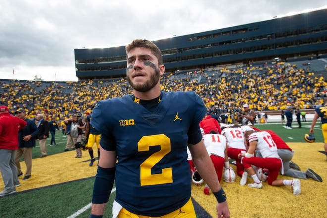 Michigan quarterback Shea Patterson looks to keep it rolling against Northwestern.