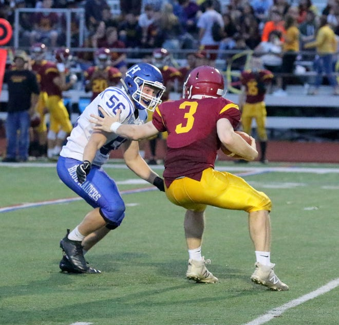 Horseheads was a 42-0 winner over Ithaca on Sept. 21, 2018 at Ithaca High School.
