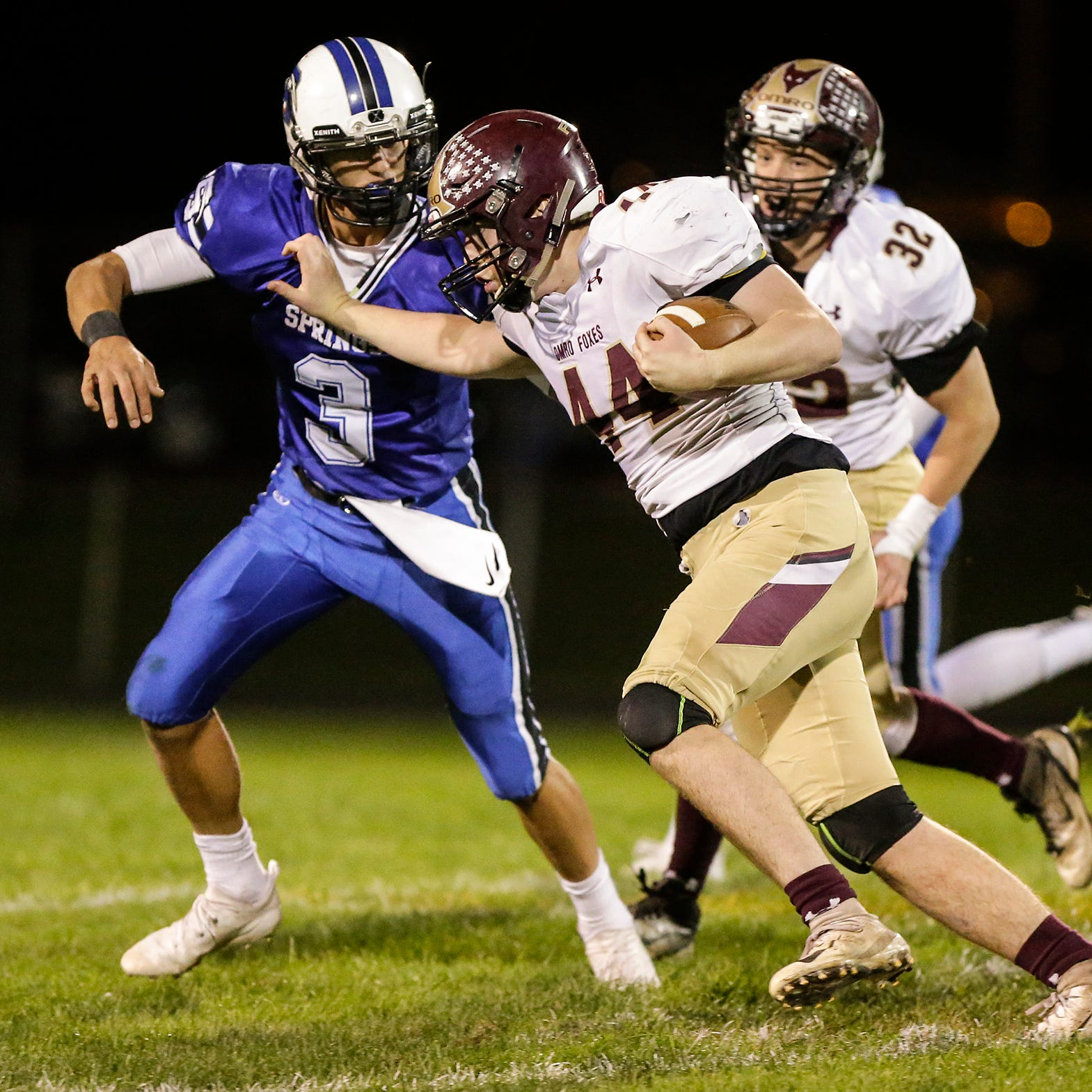 WIAA football: St. Mary's Springs, Fond du Lac enter second round of playoffs