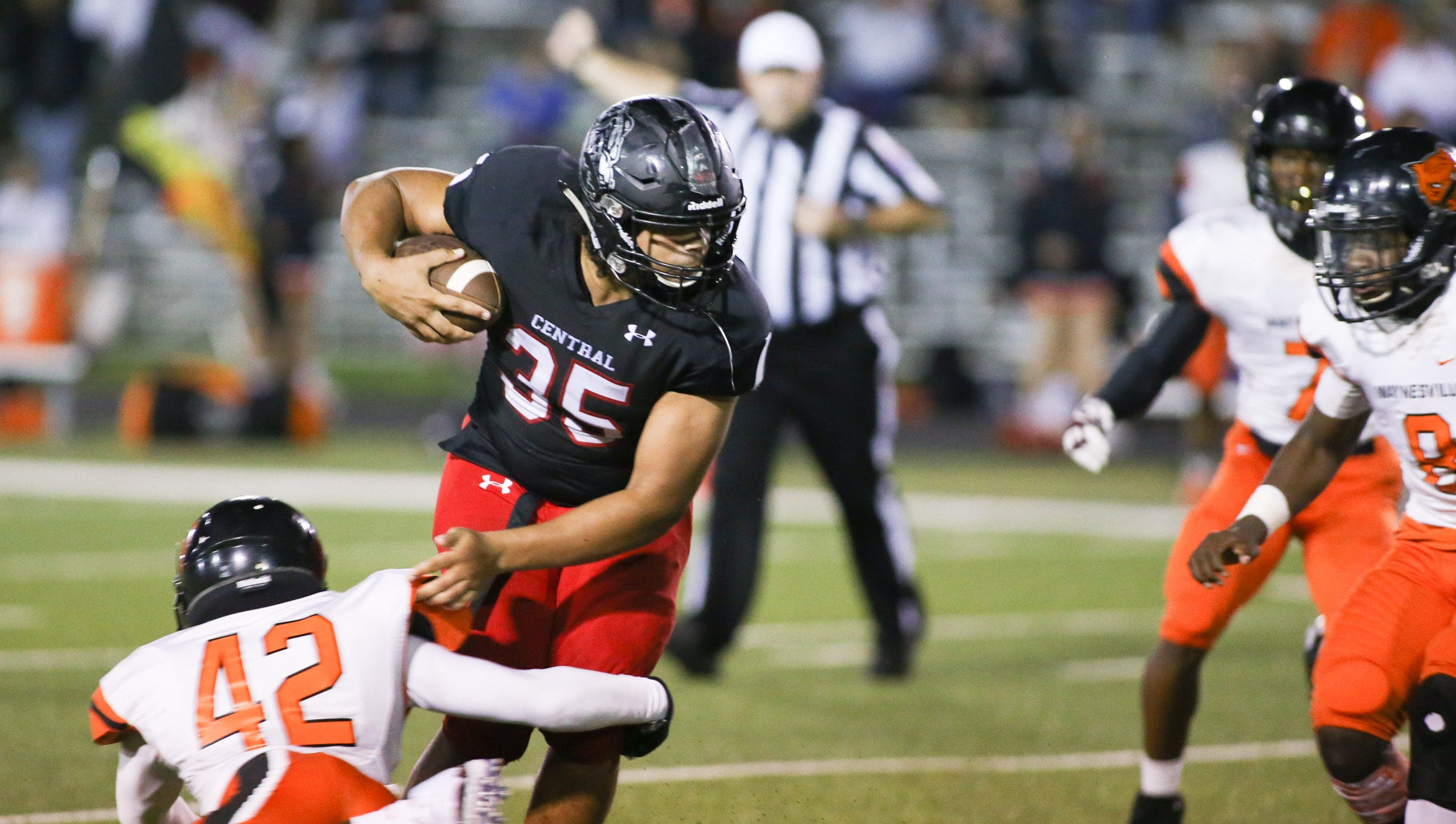 Central High School faced off with Waynesville at home Friday, September 21, 2018. (Jason Connel / for the News-Leader)