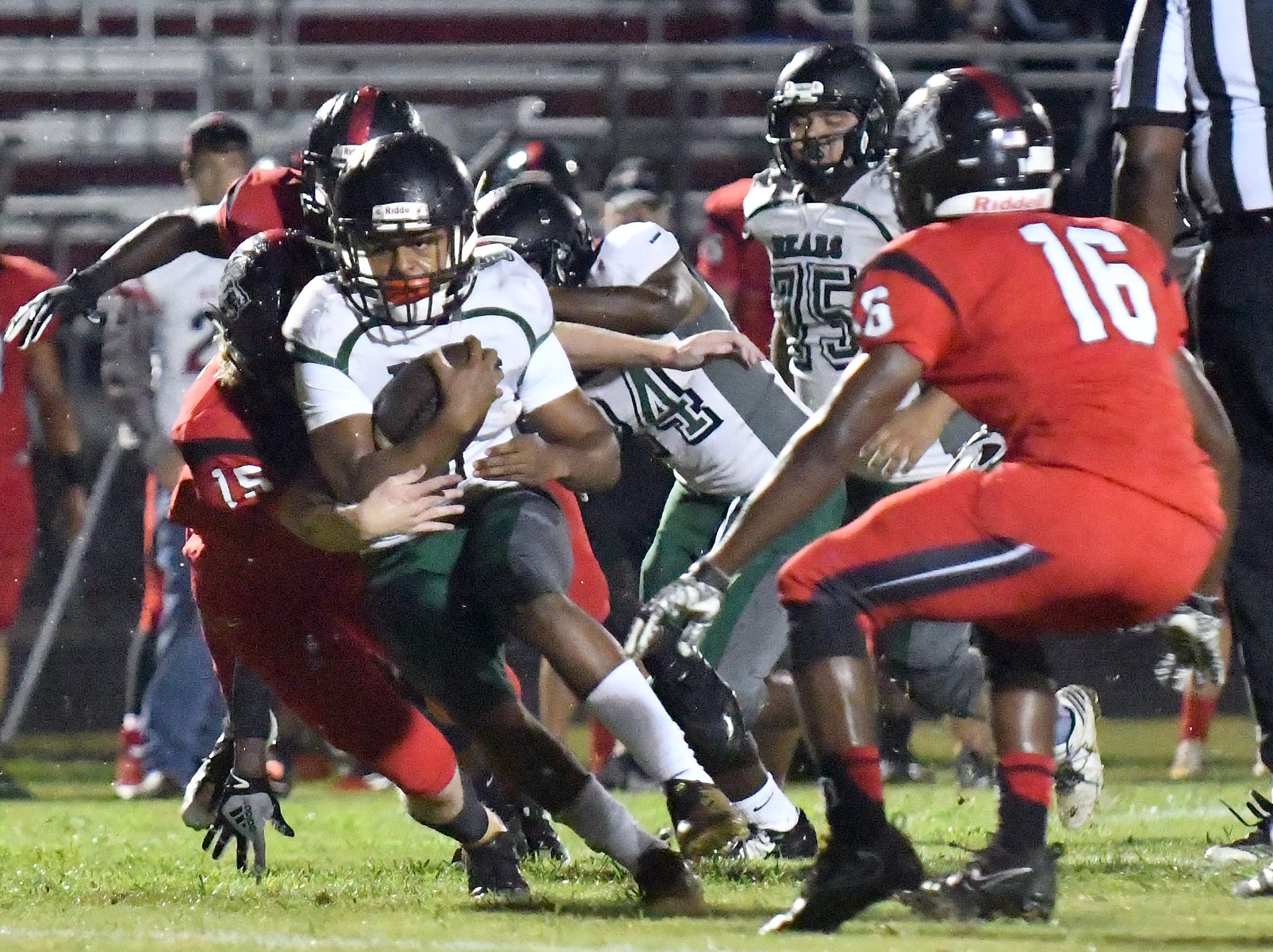 South Fort Myers High School host Palmetto Ridge High School in Fort Myers ,Friday, Sept. 21, 2018.