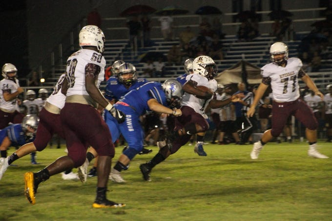 Riverdale traveled to Ida Baker and won 35-0 on Friday, Sept. 21.