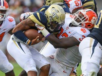 Clemson linebacker J.D. Davis after Ga. Tech win