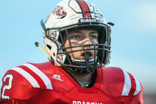 New Palestine Dragons Versus Greenfield Central Cougars September 21 2018