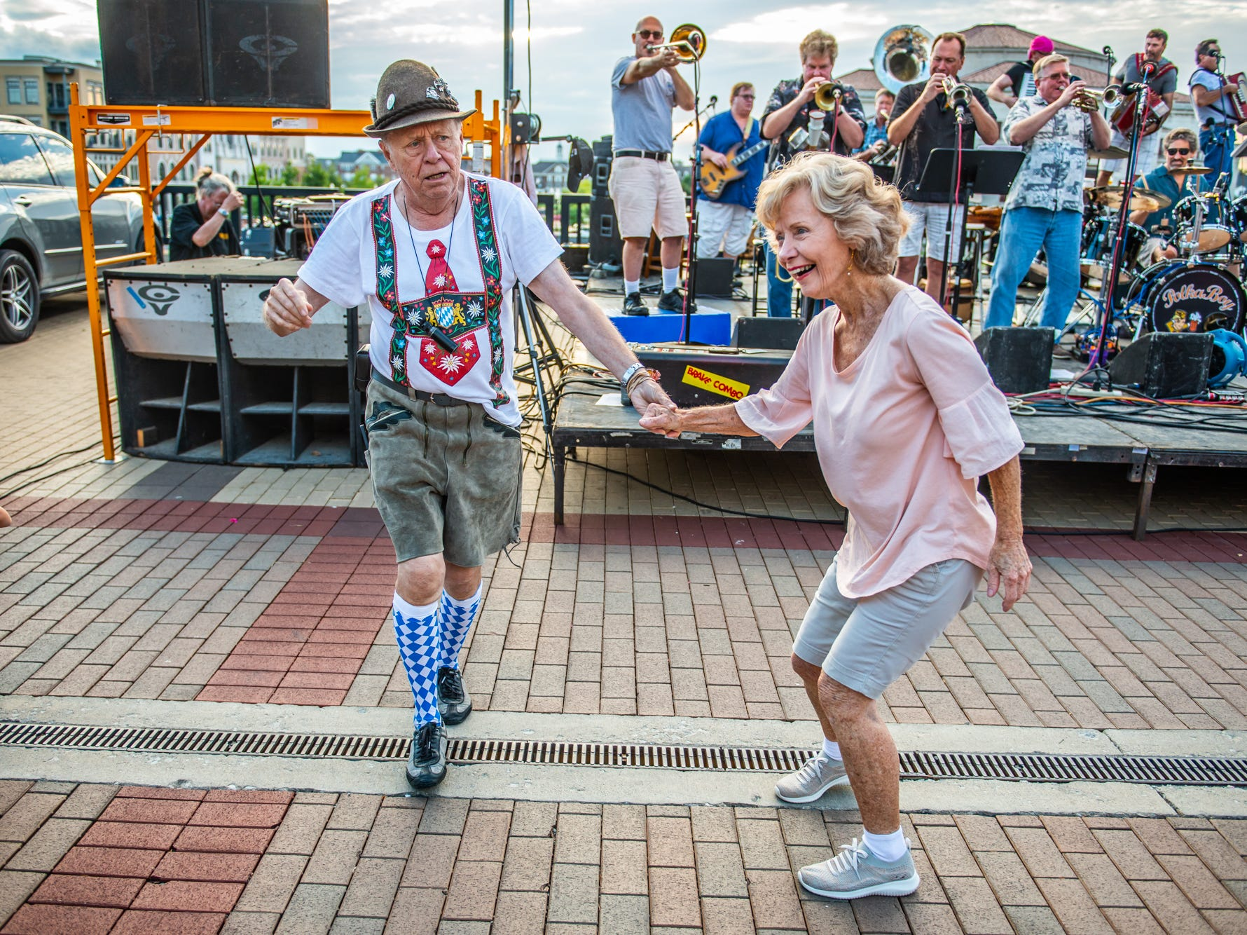 The City of Carmel's annual Oktoberfest celebration was full of dancing and fun for all at the Carmel City Center on September 21, 2018.