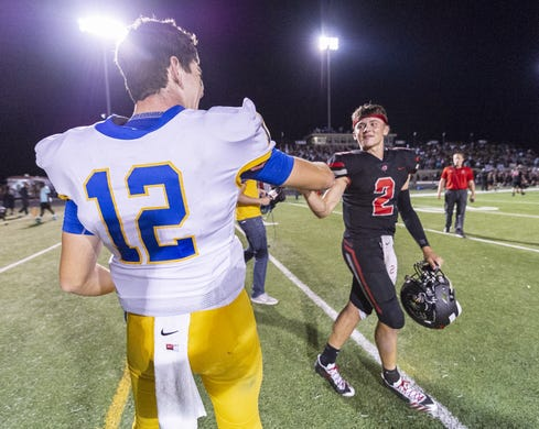 IHSAA football: Carmel holds off North Central in triple ...