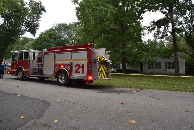 The Indianapolis Fire Department responds to a house fire Saturday morning on North Park Avenue.
